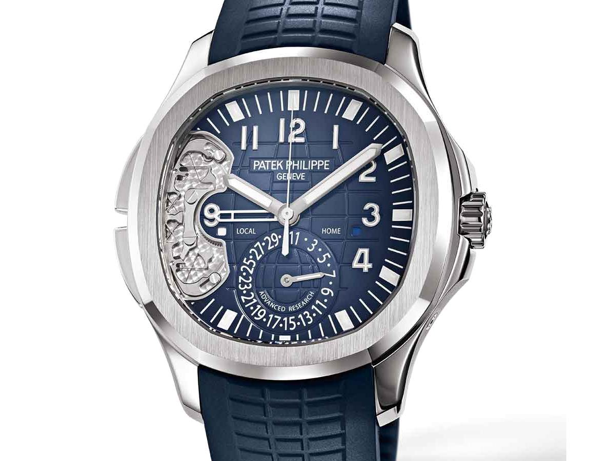 Patek Philippe Advanced Research Aquanaut Travel Time Ref. 5650G
