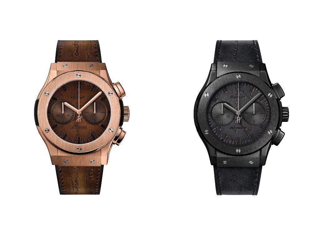 collezione Hublot Pronuncia Replica Classic Fusion Chronograph Berluti All Black
