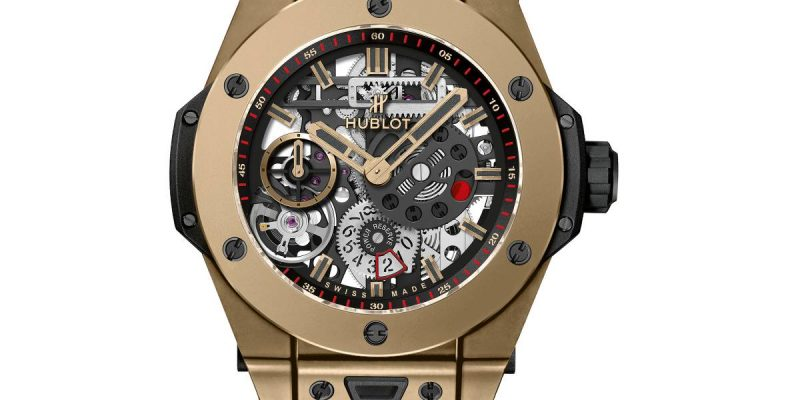 orologio Hublot Senna 88 Replica Big Bang Meca-10 Magic Gold